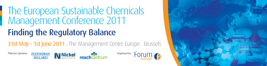 The European Sustainable Chemicals Management Conference 2011