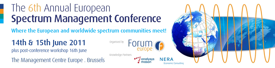 The 6th Annual European Spectrum Management Conference