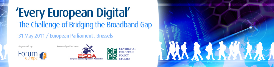 Every European Digital - The Challenge of Bridging the Broadband Gap