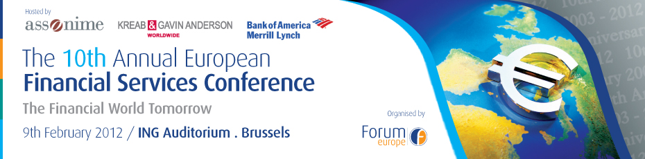 The 10th Annual European Financial Services Conference