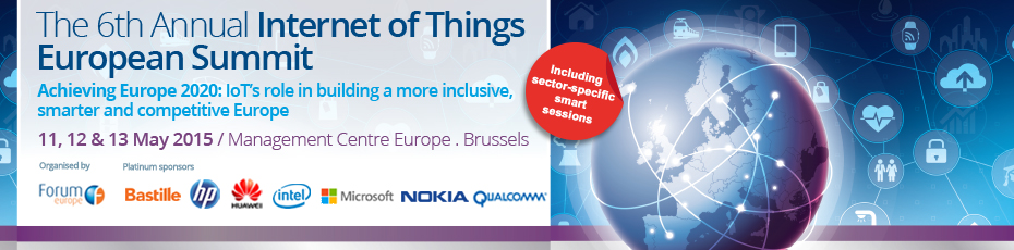 The 6th Annual Internet of Things European Summit