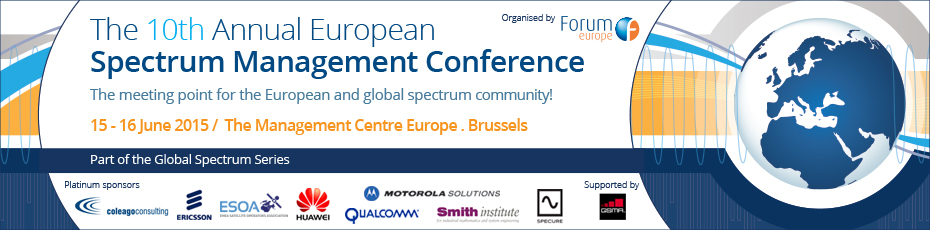 10th Annual European Spectrum Management Conference