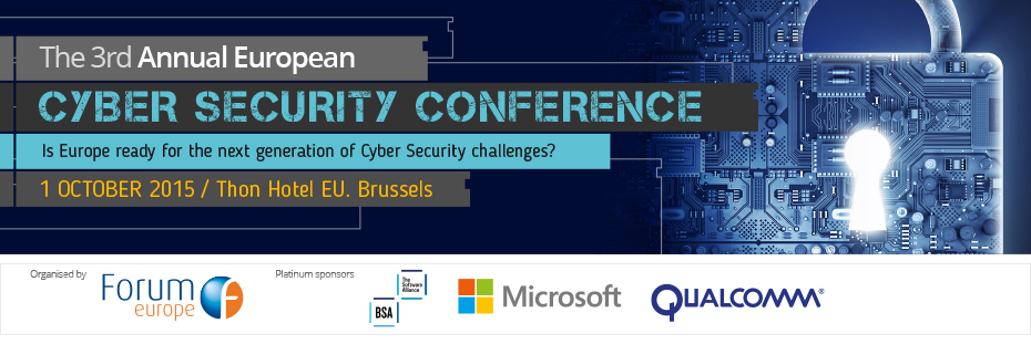 The 3rd Annual European Cyber Security Conference