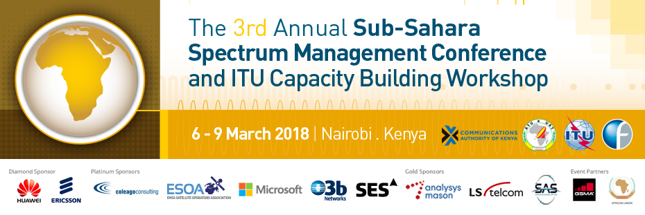 The 3rd Annual Sub-Sahara Spectrum Management Conference