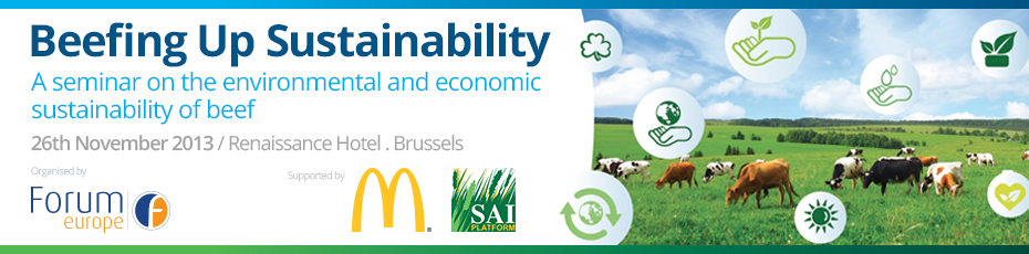 'Beefing Up Sustainability' A seminar on the environmental and economic sustainability of beef