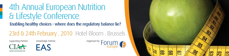 The 4th Annual European Nutrition and Lifestyle Conference 2009