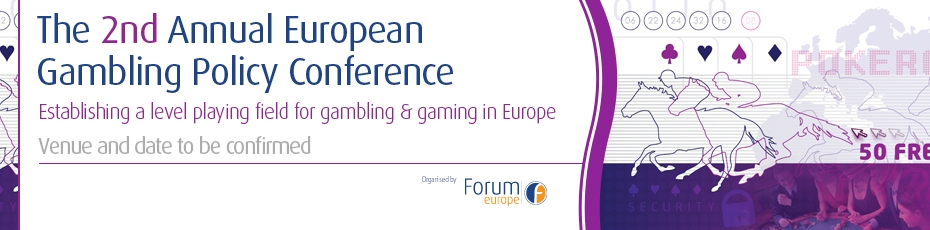 Forum Europe Gambling Policy Conference