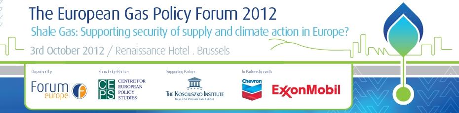 The European Gas Policy Forum | Delegate login