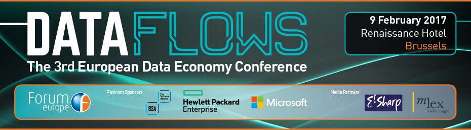 Data Flows: The 3rd European Data Economy Conference