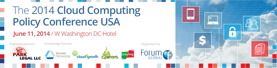 The Cloud Computing Policy Conference USA 2014