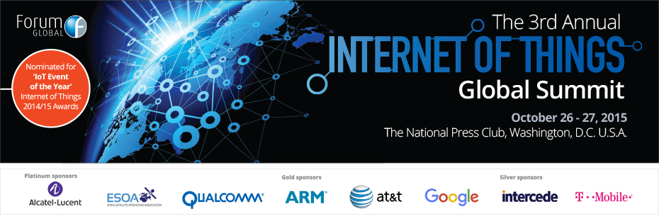 The 3rd Annual Internet of Things Global Summit