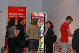 Coca-Cola highlights some of their innovative new products available in Europe