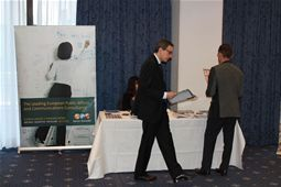Burson Marstellar exhibition stand