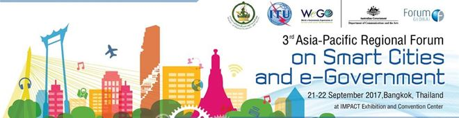 ITU Smart Cities and eGovernment forum