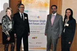 Speakers at the European Single Market Forum 2012